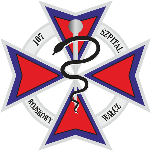 107 Szpital Wojskowy z Przychodnią SPZOZ w Wałczu logo